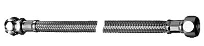 "Schell Inox Flexibel 3/8""F x Bicone 10 mm - 60 cm"