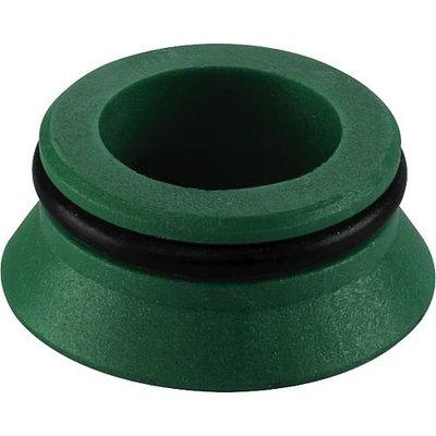 Aansluitconus Schijfje Voor EK Met O-ring Groen