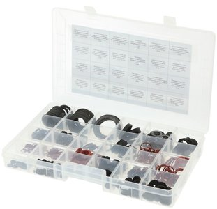 Assortiment Fiber/Rubber Dichting & Kraanpakking (500 stuks)
