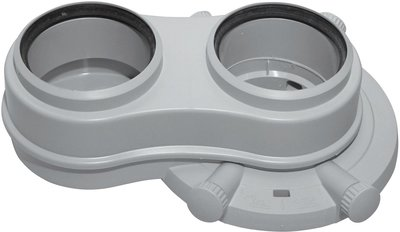 Vaillant Schouw Adapter 80 - 80 mm (PP) - 0020147470