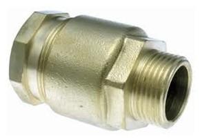 """SR3/R Klemkoppeling 3/4""""M x 28,2/4,3 mm Voor LDPE-Buis (BSR)  9003R20"""