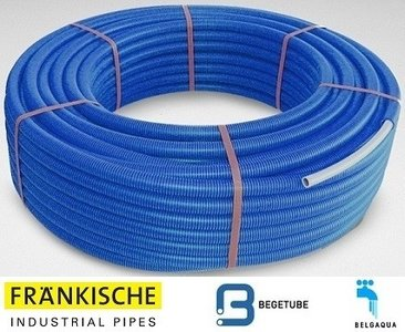 Begetube Alpex DUO Buis 16/2 mm (Rol 50 m Blauw)