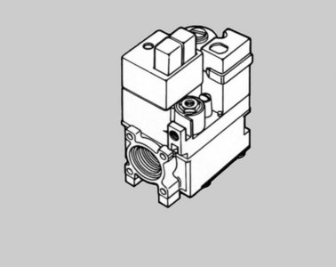 Honeywell Gasblok V8800C1051 (24V)