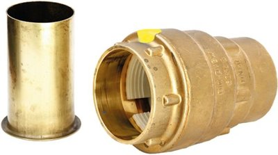 "Pushkoppeling 5/4""V x 40/3,7 mm Voor HDPE-Buis (Aardgas)"