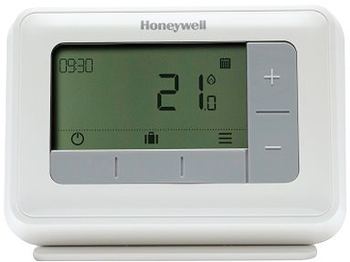 Honeywell T4M Digitale Modulerende Klokthermostaat Weekprogramma