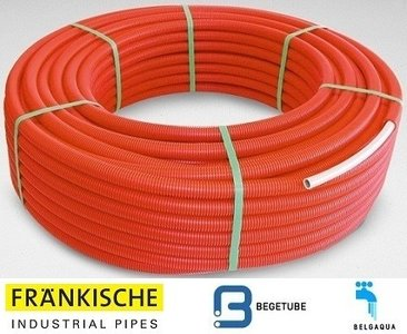 Begetube Alpex DUO Buis 16/2 mm (Rol 100 m Rood) - 800171100