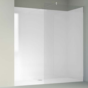 Acryl Wand Wit L-Tand 896 x 2000 x 8