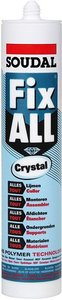 Soudal Fix All Crystal Transparante Montagekit 290ML