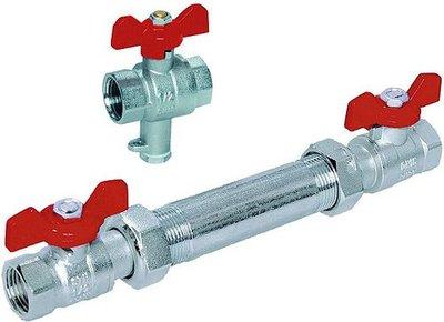 Warmtemeter Aansluitset  DN15 -  1,5m3/Uur VSH