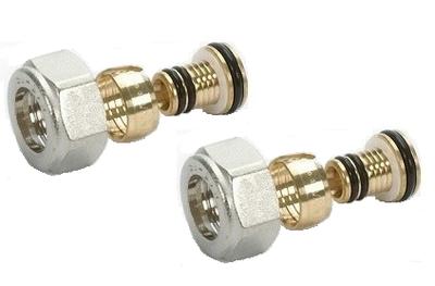 Begetube M24 x 16/2 mm Alpex Klemkoppeling (2 stuks) - 500570118